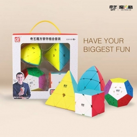 Qiyi Twisted Cube Gift Pack S